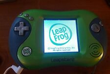 Leap Frog Leapster 2 Green Blue Handheld Learning System