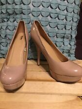 Mossimo Light Pink Shiny Blush platform Heels Size 9