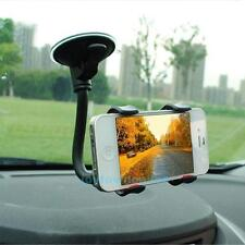 New Car Phone Clamp Holder 360 Rotation Windshield Mount Bracket w/ Suction Cup