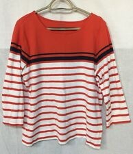 NAUTICAL STRIPE SUPER SOFT TUNIC by HASTING & SMITH size L