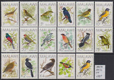 Malawi 1988-94 Birds set of 17v. MNH** 188 Euro Scarce & Rare!