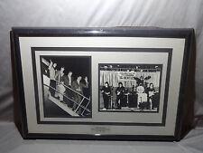 THE BEATLES ONLY VEGAS APPEARANCE AUGUST 1964 FOR THE HOTEL SAHARA FRAMED PHOTOS