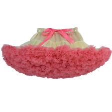 Kid Baby Girl Princess Party Ballet Dancewear Tutu Skirt Dress Fluffy Pettiskirt