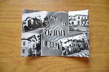 CARTOLINA SALUTI DA CAPRIATA D' ORBA VILLE VIAGGIATA 1963 SUBALPINA DD