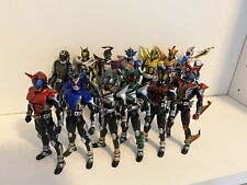 Loose Masked Kamen Rider Seihou Bone Carving Figuarts Kabuto Lot Of 13 US Seller