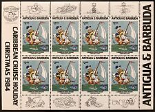 ANTIGUA DISNEY DONALD DUCK BIRTHDAY STAMPS SHEETLET 1984 MNH CARIBBEAN CHRISTMAS