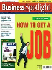 Business Spotlight 2 2012 English Get Job Say No Success Americans Steve Jobs Yo