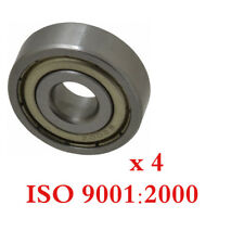6200-Z Radial Ball Bearing Double Shielded Bore Dia. 10mm OD 30m Width 9mm