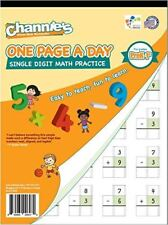 Math Addition Subtraction single digit for PreK 1st 2nd grade Daily practice