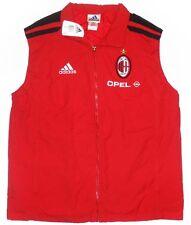 rare AC MILAN 2001-02 Player Issue Padded Training Gilet Jacket not shirt *BNIB*
