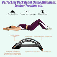 New Chiropractic Pain Relieving Back Support Stretcher Posture Corrector Massage