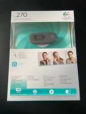 More details for brand new logitech c270 hd webcam video calling with noise reducing microphone