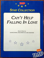 Can't Help Falling In Love by George Weiss, Hugh Peretti & Luidi Creatore 1938