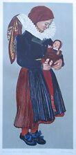 Rosner Rosl aus Lissowitz von Fritzi Mally - Trachten Sudetenland Druck aus 1943