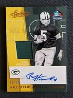 2017 PANINI ABSOLUTE FOOTBALL PAUL HORNUNG AUTO JERSEY #ED 91/99