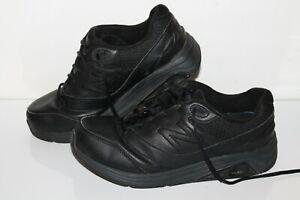 New Balance 928v3 Walking Shoes, #WW928BK3, Leather, Black, Womens 10 X Wide, 2E
