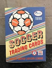 1990 Pacific MISL Indoor Soccer Box - 36 Packs-12 Cards Each Pack