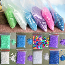 1 Bag Aquarium Mini Pebbles Stones Fish Tank Gravel Sand Fish Tank Decoration