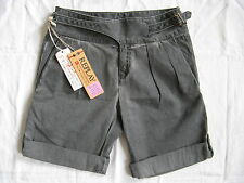 Replay Damen Hose Shorts mit Gürtel W24 cotton high waist regular fit with belt