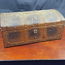 Vintage Kennedy Manufacturing tool Box Storage Chest steampunk treasure chest