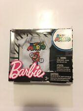 Barbie Super Mario Bros Moda ~ Gaming Gear Para Barbie/Ken ~! nuevo! — 372
