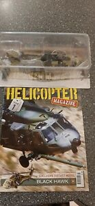 Helicopter mag issue 1+black hawk die cast model brand new sealed
