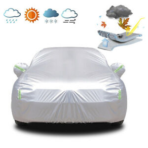 Car Cover Waterproof SUV Protection Dust Heat Resistant For Hyundai Tucson ix35