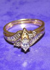 BEAUTIFUL SECONDHAND 14ct YELLOW GOLD APROXYMATELY 0.45ct DIAMOND RING SIZE K