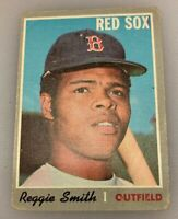 1970 Topps Baseball Card Reggie Smith # 215