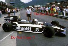Elio De Angelis Brabham BT55 Brazilian Grand Prix 1986 Photograph