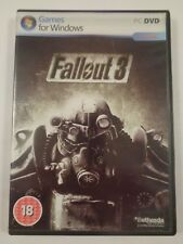 Fallout 3 PC DVD Game *Boxed & Complete*