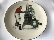 Norman Rockwell Collector Plate A Helping Hand Gorham fine china 1979