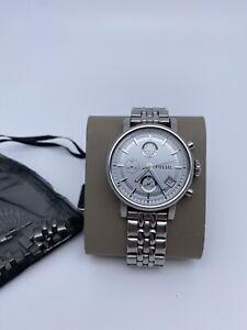 Fossil Uhr Silber Gliederarmband