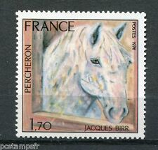 FRANCE  1978, timbre 1982, CHEVAL, PERCHERON, TABLEAU, neuf**, HORSE VF MNH