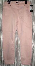"New *JONES OF NY*Lexington Ankle,Cotton/Spandex,""Secret Slimming"" Pink Jeans,16R"