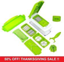 12 PC K20 Super Slicer Plus Vegetable Fruit Peeler Dicer Cutter Chopper Nicer