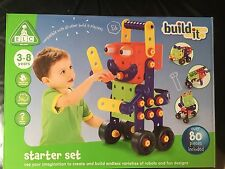 Build It ELC Early Learning Centre Construction Starter Set Plus Extras Bundle