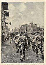 RAF. Sorbi (toscano truppe) grafica militare di 1901