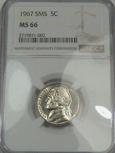 1967 US Jefferson Nickel. NGC MS66. #123