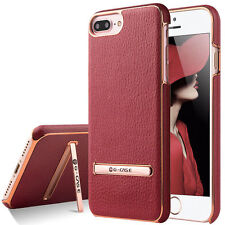 Patterned Synthetic Leather Cases & Covers with Kickstand for Apple Phones