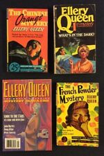 ELLERY QUEEN Vintage Mystery Pocket Book FRENCH POWDER 1940 CHINESE ORANGE 1943