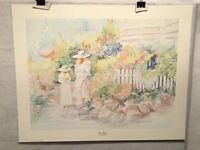 """Free Kittens - Nancy Phelps - Lithograph Art Print 22"""" x 28"""""""