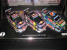 CLASSIC 1/43 2013 BATHURST 1 2 3 FINISH WINTERBOTTOM WHINCUP LOWNDES  FPR #43668