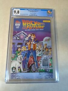 Back to the Future Issue #3 Comic. CGC Graded 9.8. Archie Variant Cover
