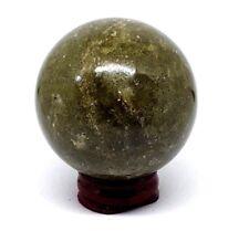 Herbe Jasper Boule de Cristal Divination Vision dans le 55mm 275g Sphère (N°1)