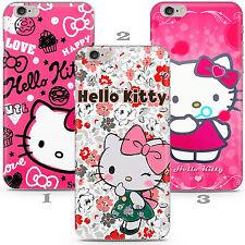 Disney Hello Kitty Kid Cartoon Child Case Cover Apple iPhone 5 6 7 8 11 X Xr SE