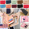 USA Women Bow Wallets Long Purse Card Phone Holder Clutch Large Capacity Pocket