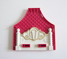 PLAYMOBIL (H345) PRINCESSES - Tête de Lit Blanc & Rose Chambre 3020