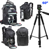 """60"""" PRO HEAVY DUTY ALLOY TRIPOD + XL BACKPACK CARRYING CASE FOR CANON EOS REBEL"""