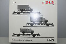 Märklin 48724 Coffret THW Epoche III Échelle H0 Emballage D'Origine